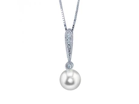 Sterling Silver Freshwater Pearl Pendant by Imperial Pearls