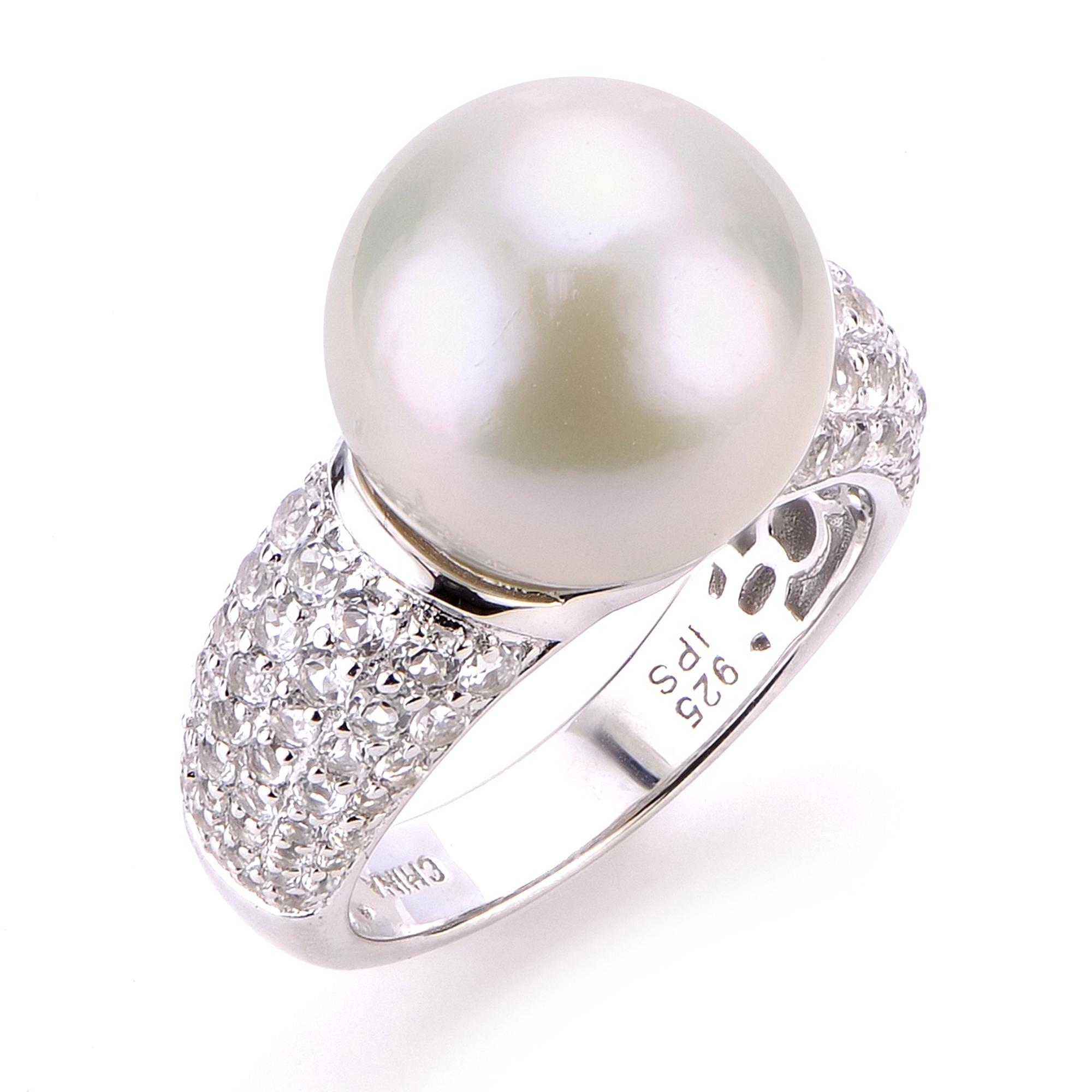 7321b09fe Sterling Silver Freshwater Pearl Ring 613465/FW-7 | Rings from ...