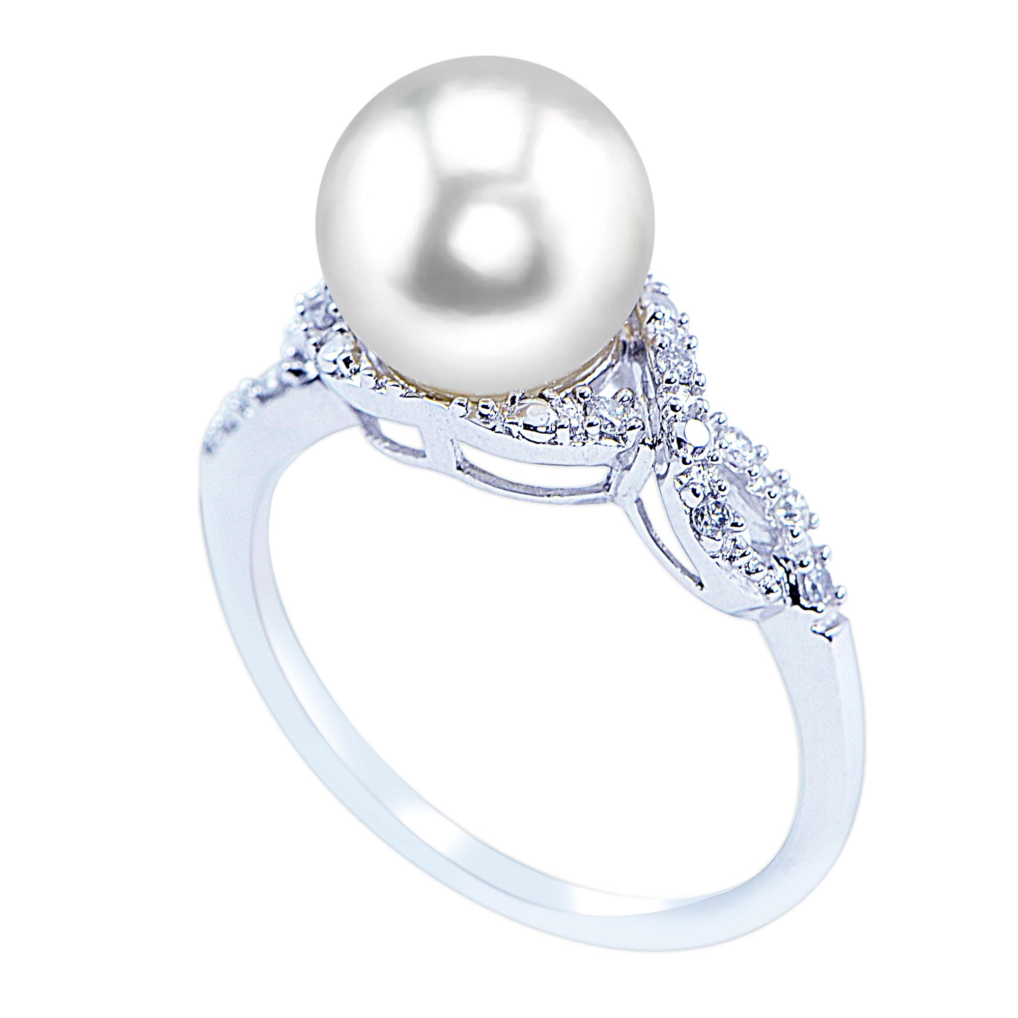 silver i diamond products collection sea bella south ring in white pearl rings wedding sterling and