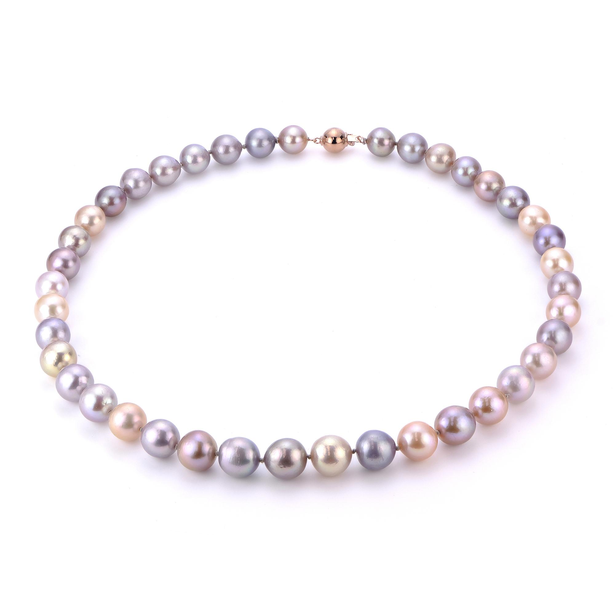 68174b567ec580 Home · All Jewelry · Necklaces; 14K Rose Gold Freshwater Pearl Necklace