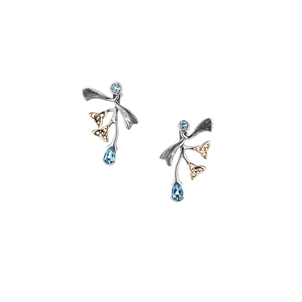 Trinity Knot Sterling Silver Earrings Timmreck & McNicol Jewelers McMinnville, OR