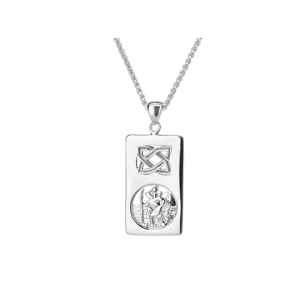 St Christopher Sterling Silver Pendant Timmreck & McNicol Jewelers McMinnville, OR