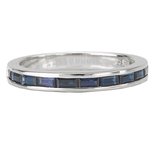 Rings - Sapphire Matching Band - image #4