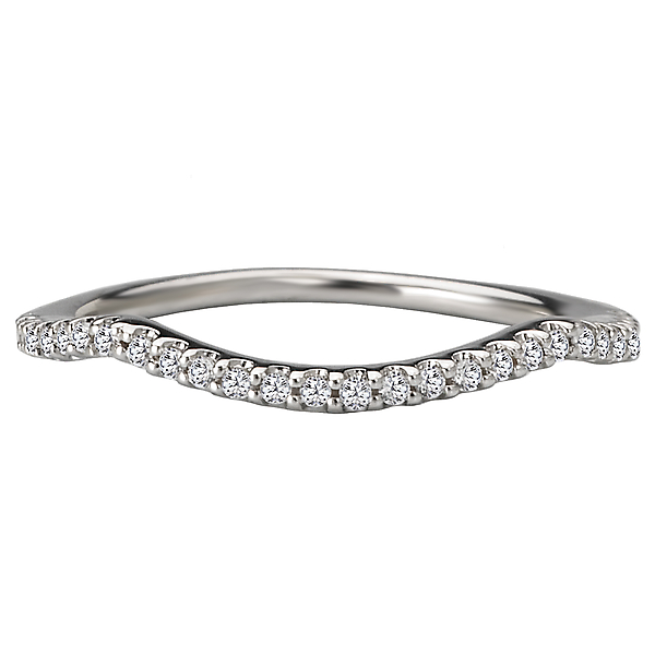 Rings - Curved Wedding Band - image 4