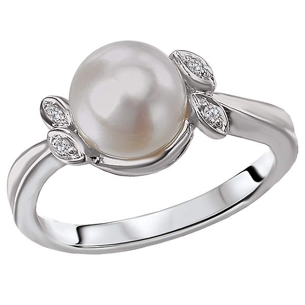 Ladies Fashion Pearl Ring by Tesoro
