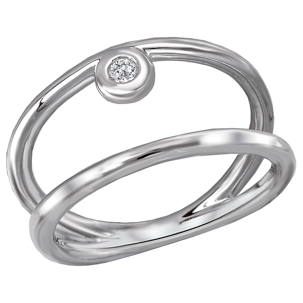 Ladies Fashion Diamond Ring by Eleganza