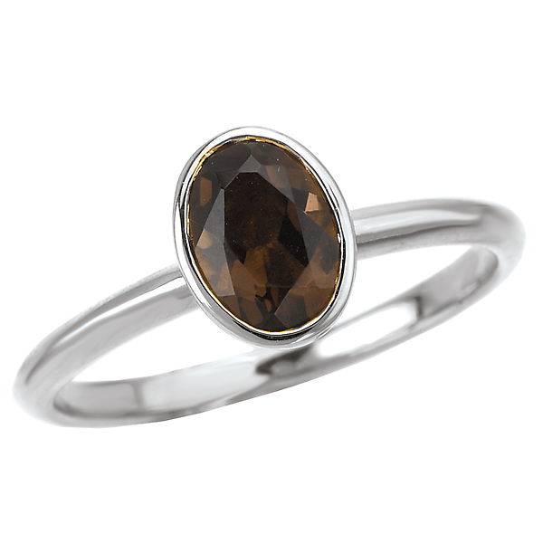 Ladies Stackable Gemstone Ring by Eleganza