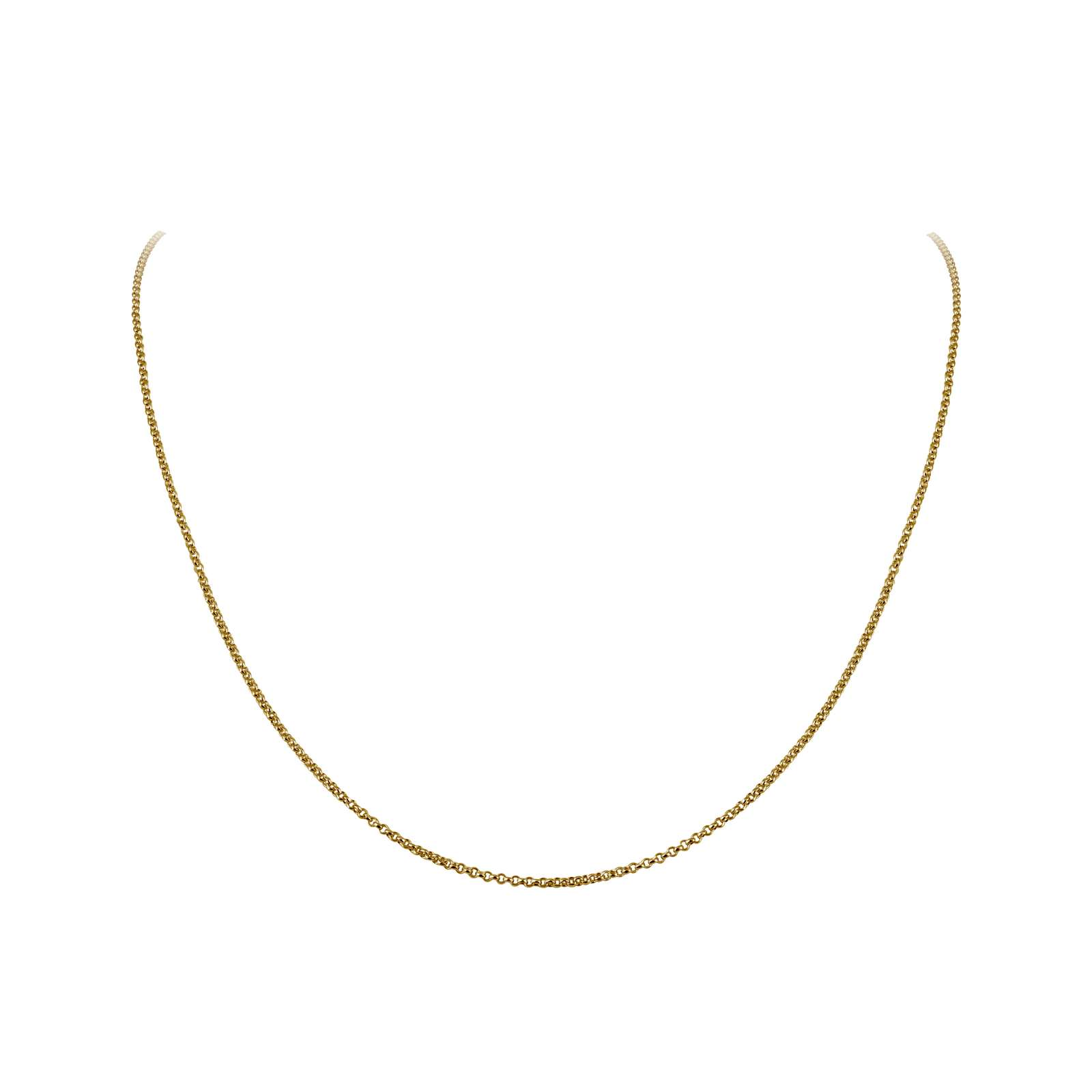 Classic No Stone Gold Bonded Chain by Lafonn Jewelry