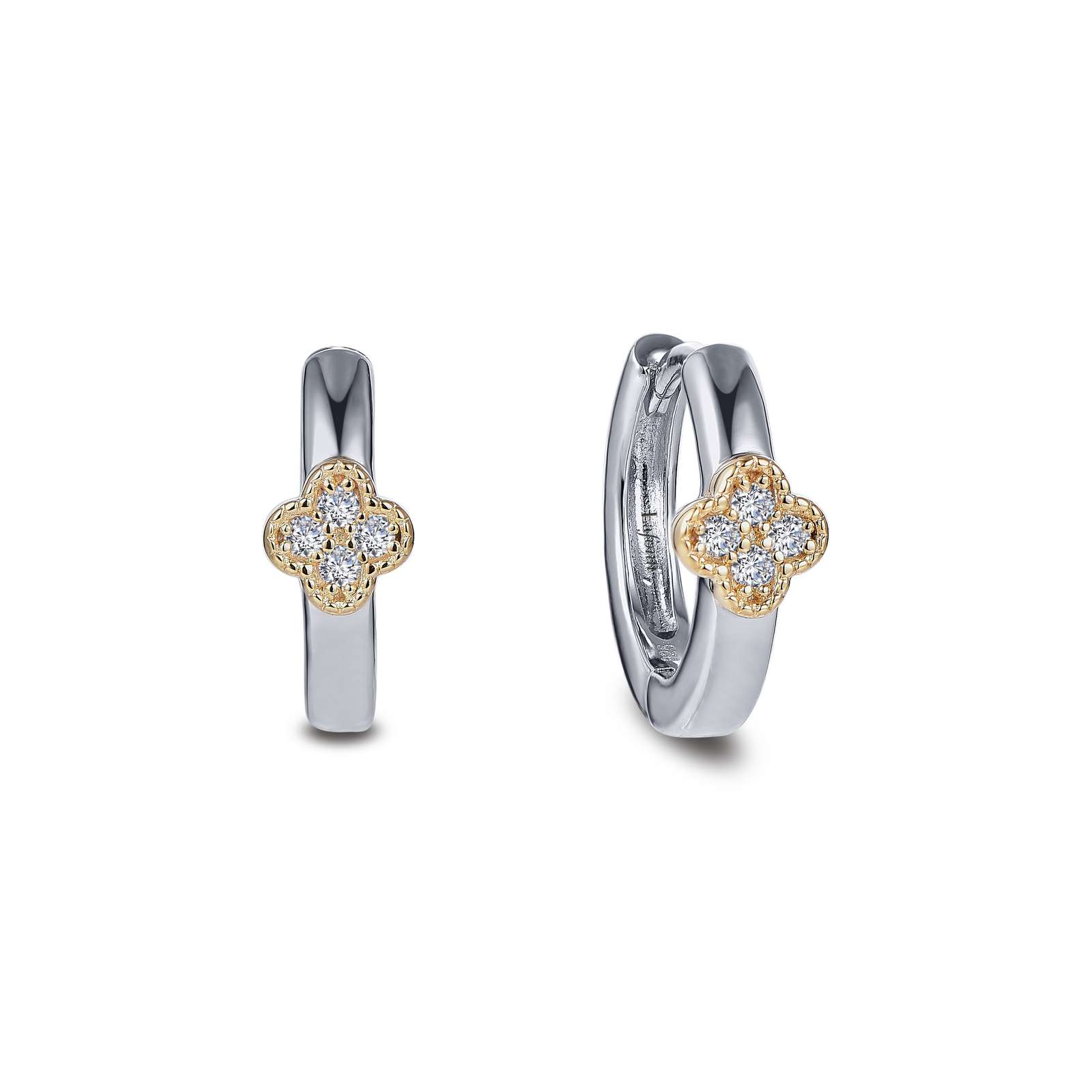 Classic Simulated Diamond Mixed-color Earrings by Lafonn Jewelry
