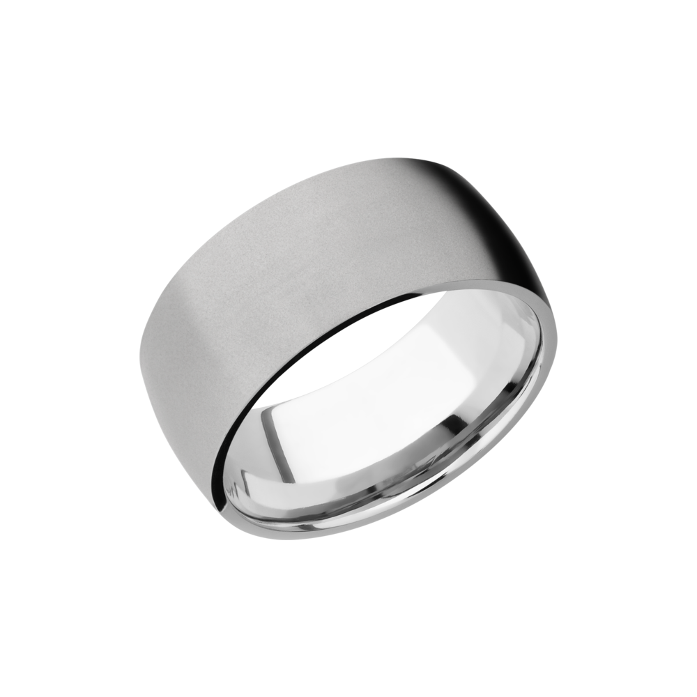 Cobalt Chrome 10mm Band by Lashbrook Designs