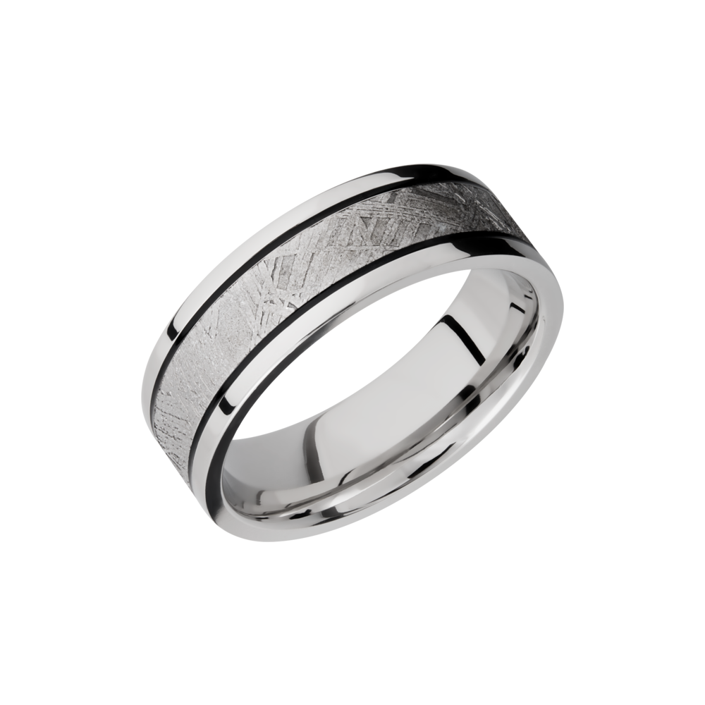 Cobalt Chrome 7.5mm Band by Lashbrook Designs