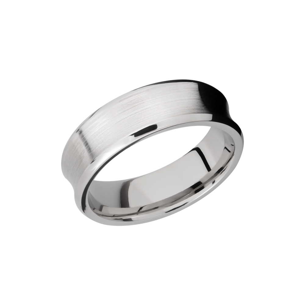 Cobalt Chrome 7mm Band by Lashbrook Designs