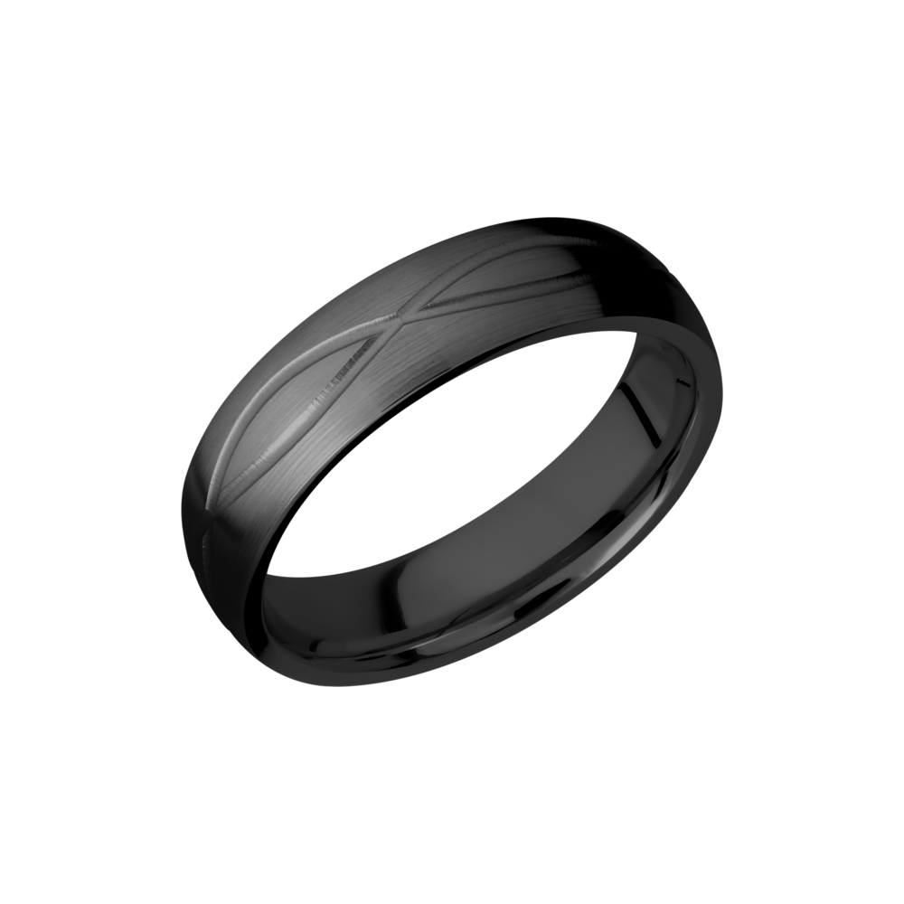 This is a graphic of Zirconium Wedding Band