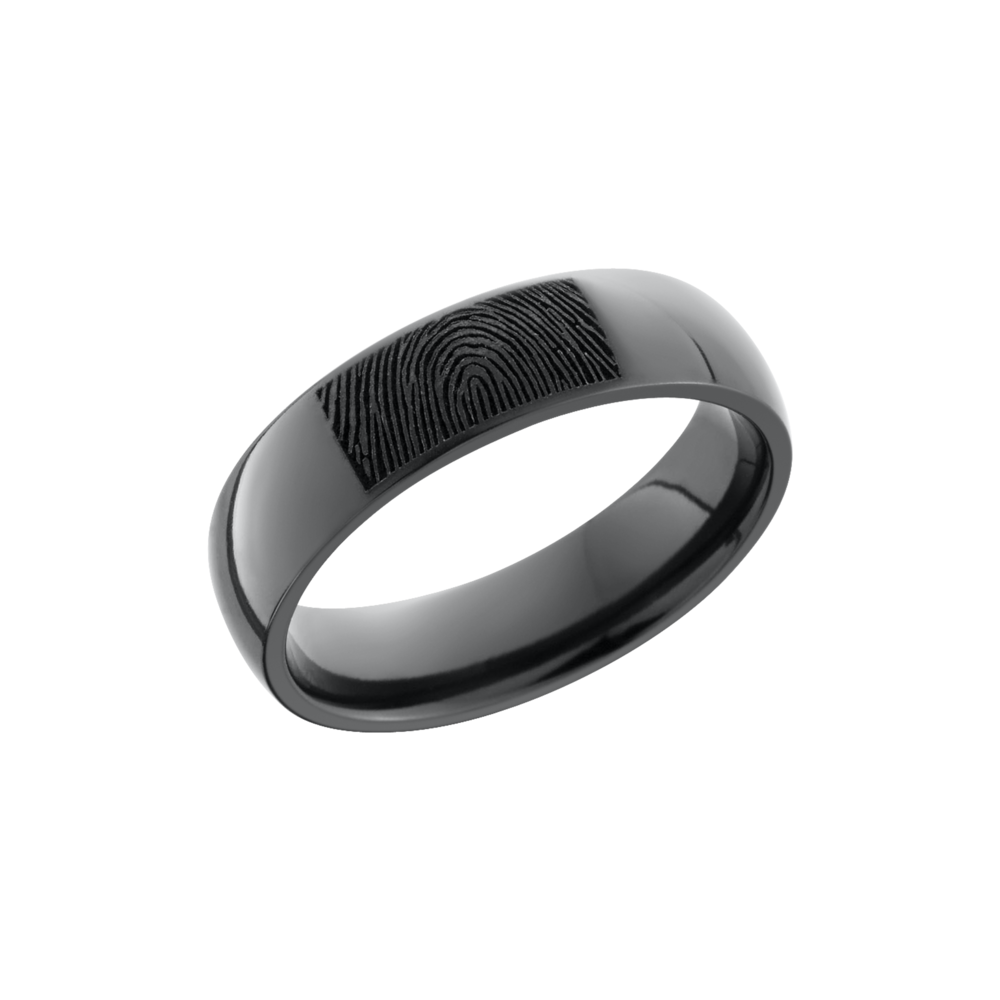 It is a picture of Zirconium Wedding Band