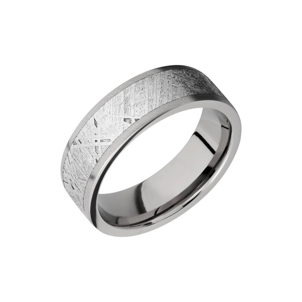 Titanium 7mm Band by Lashbrook Designs