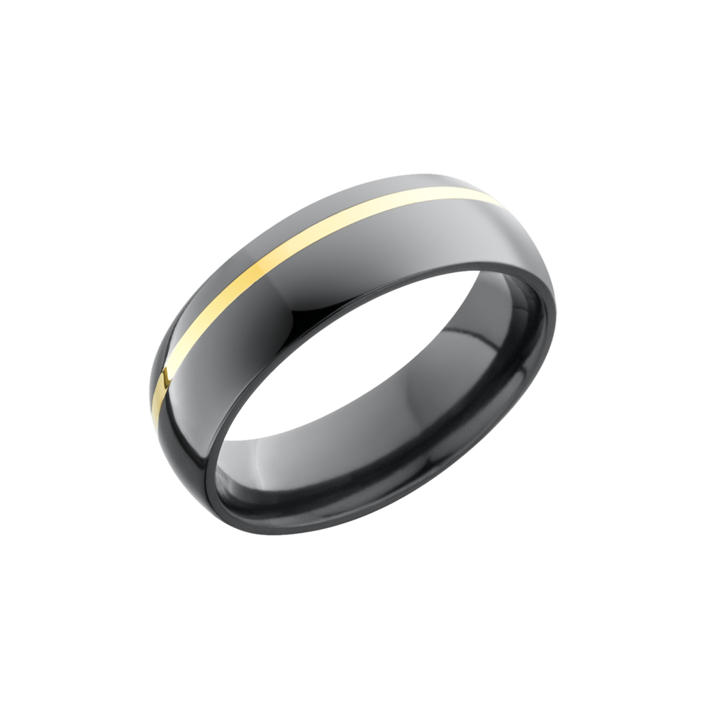 Zirconium 6mm Band by Lashbrook Designs