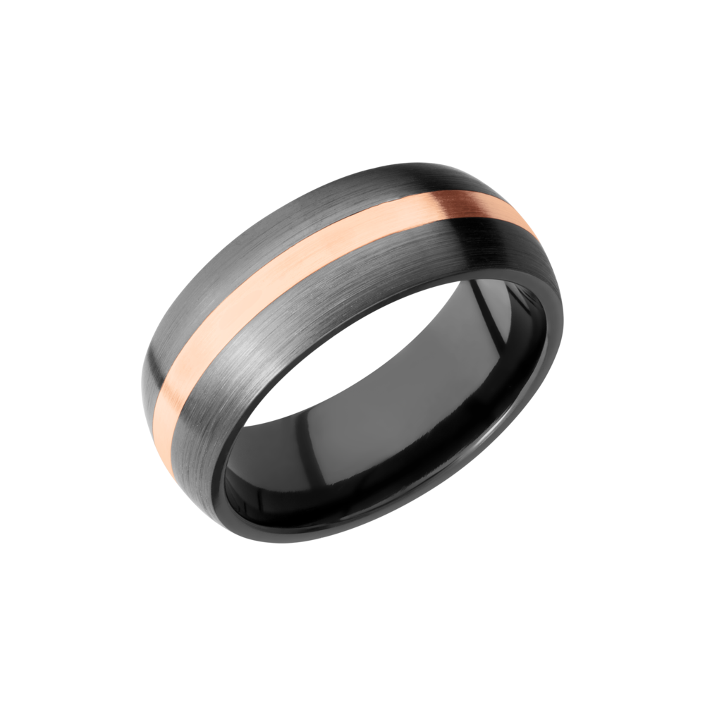 Zirconium 8mm Band by Lashbrook Designs