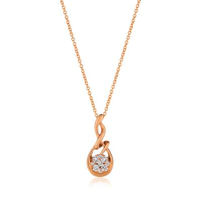 14K Strawberry Gold® Pendant by Le Vian