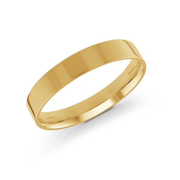 14K Yellow Gold Men's Wedding Band Ross Elliott Jewelers Terre Haute, IN