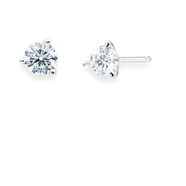 14k White Gold Earrings Barnes Jewelers Goldsboro, NC