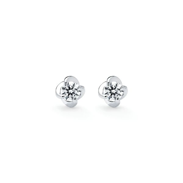 14k White Gold Earrings Midtown Diamonds Reno, NV