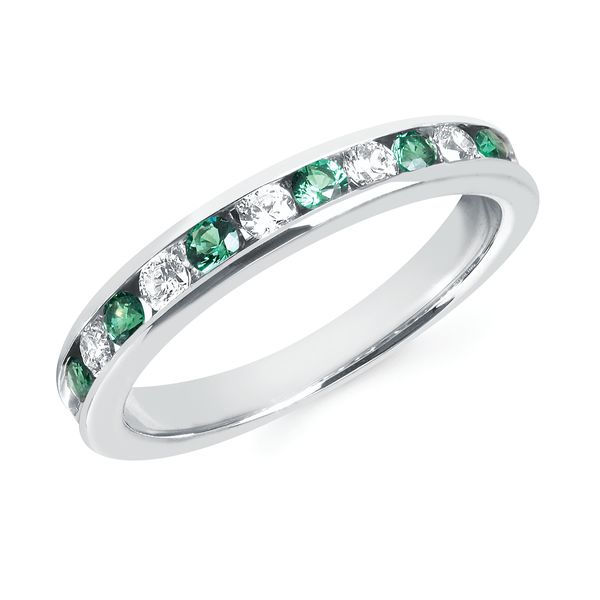 14k Yellow Gold Anniversary Band Baker's Fine Jewelry Bryant, AR