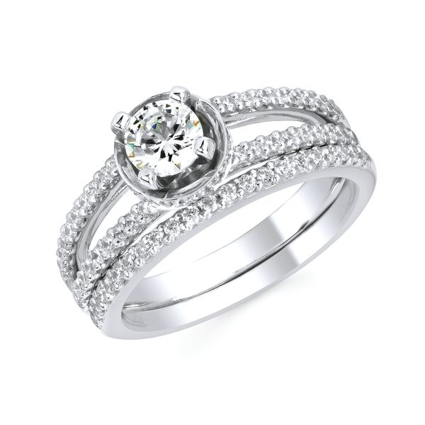 14k White Gold Engagement Set Arnold's Jewelry and Gifts Logansport, IN