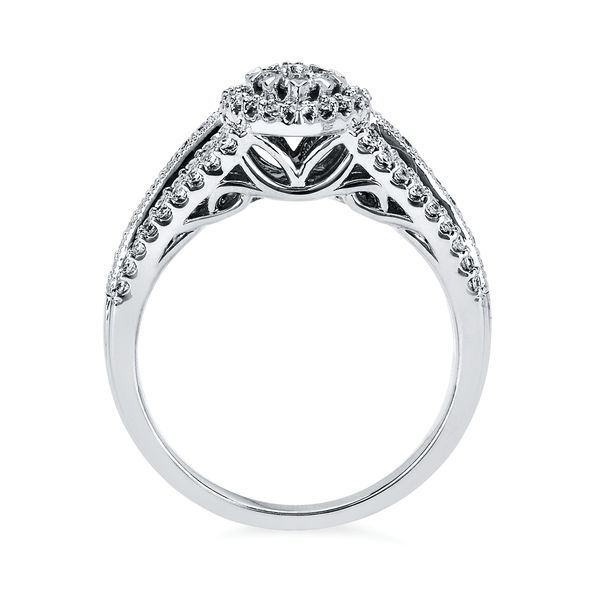 14k White Gold Ring Image 2 B & L Jewelers Danville, KY
