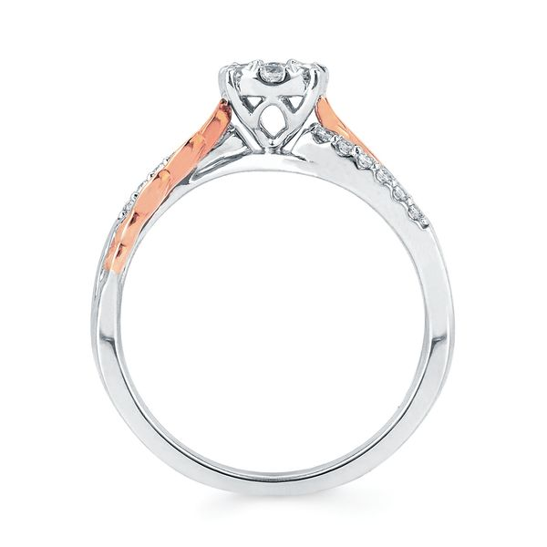 14k White And Rose Gold Engagement Set Image 2 Bijoux Fine Jewelers Sulphur, LA
