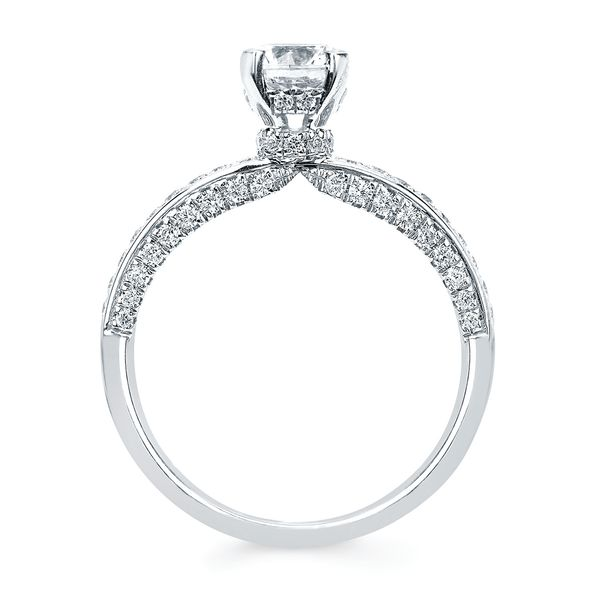 14k White Gold Engagement Set Image 3 B & L Jewelers Danville, KY