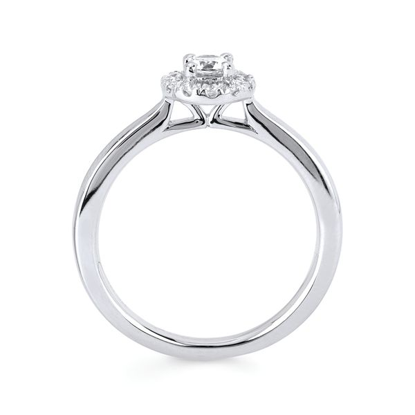 10k White Gold Engagement Set Image 2 James Gattas Jewelers Memphis, TN