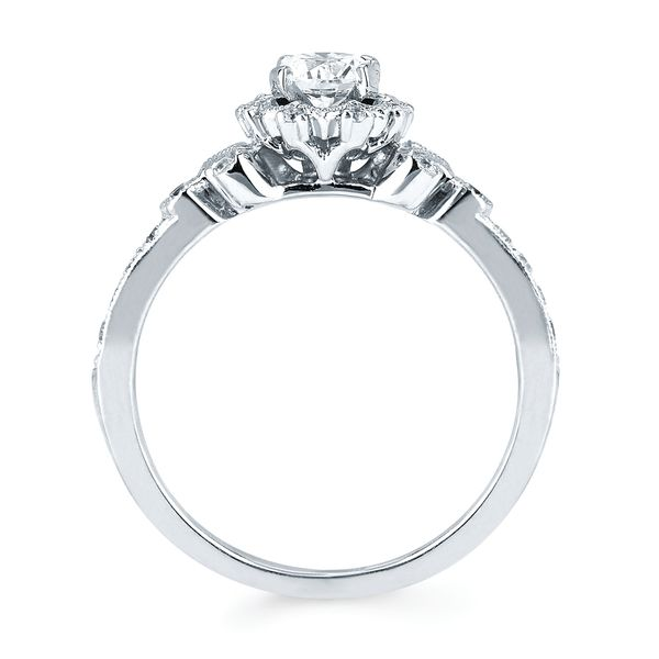 14k White Gold Engagement Set Image 2 James Gattas Jewelers Memphis, TN
