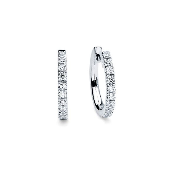 14k White Gold Earrings Michael's Jewelry Center Dayton, OH