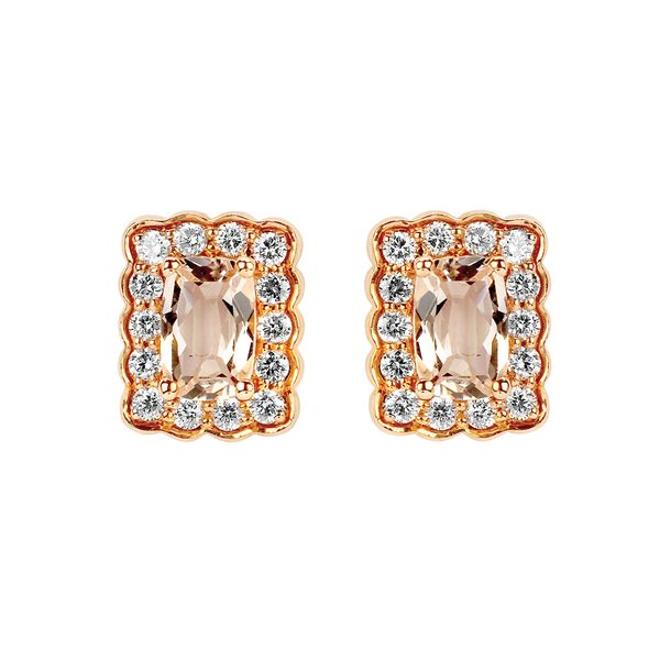 14k Rose Gold Earrings McCoy Jewelers Bartlesville, OK
