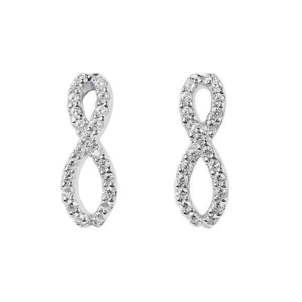 14k White Gold Earrings Bijoux Fine Jewelers Sulphur, LA
