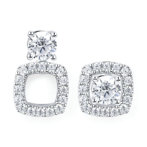 14k White Gold Earrings McCoy Jewelers Bartlesville, OK
