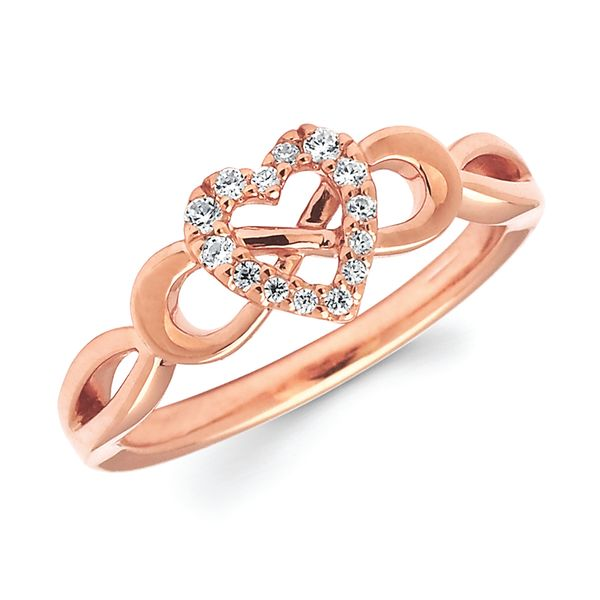 Ostbye 14k Rose Gold Ring Of15a21 4rc 14kr Rings Engelbert S Jewelers Inc Rome Ny