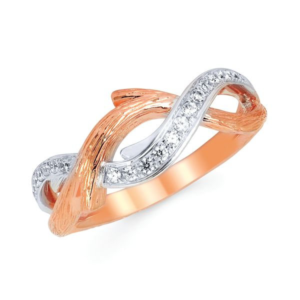 14k White And Rose Gold Ring B & L Jewelers Danville, KY