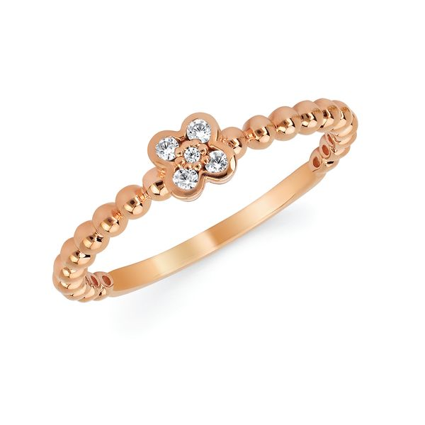 10k Rose Gold Ring Baker's Fine Jewelry Bryant, AR