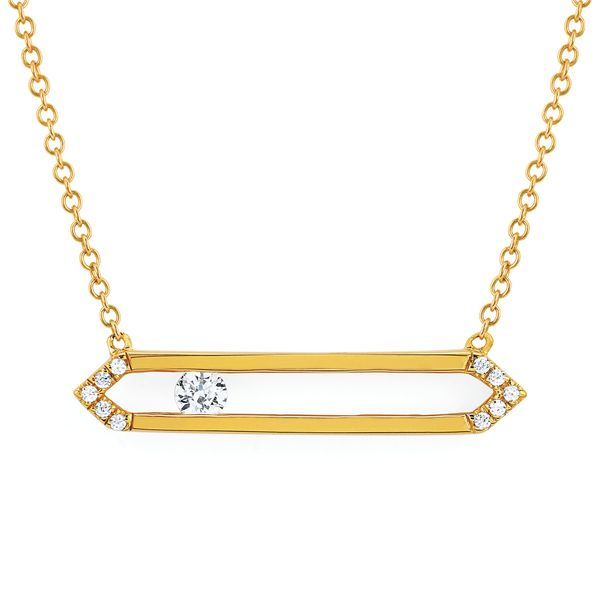 14k Yellow Gold Pendant McCoy Jewelers Bartlesville, OK