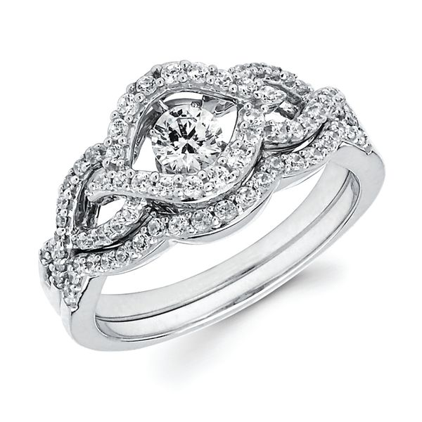 14k White Gold Wedding Band Arnold's Jewelry and Gifts Logansport, IN