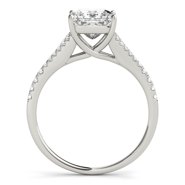 Platinum Multi-Row Engagement Ring Image 2 Atlanta West Jewelry Douglasville, GA