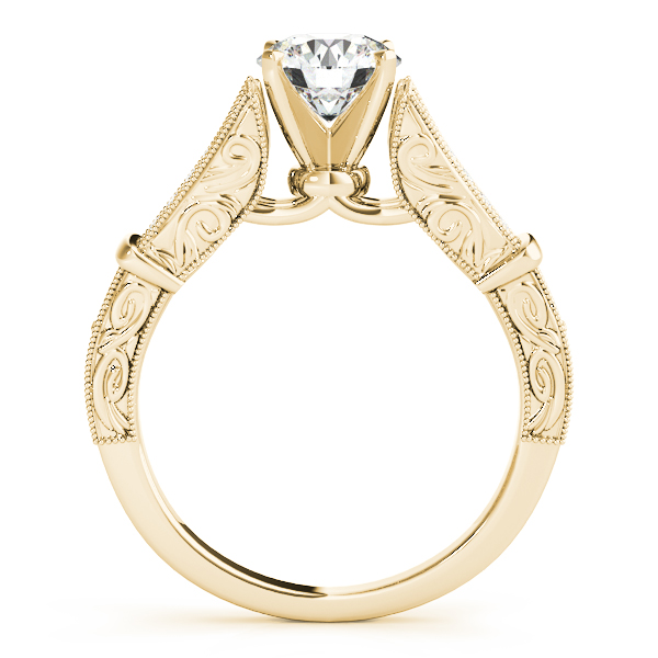 18K Yellow Gold Multi-Row Engagement Ring Image 2 Atlanta West Jewelry Douglasville, GA