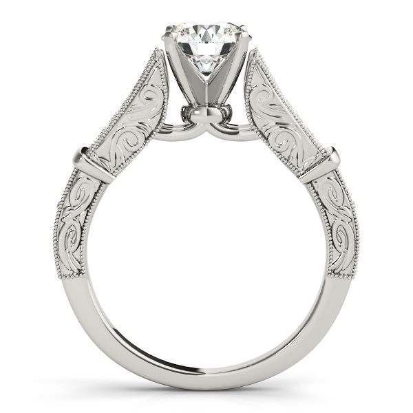 14K White Gold Multi-Row Engagement Ring Image 2 Atlanta West Jewelry Douglasville, GA