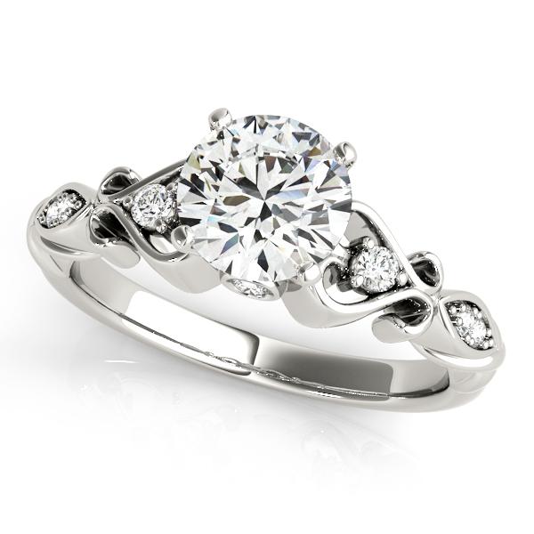 Platinum Antique Engagement Ring