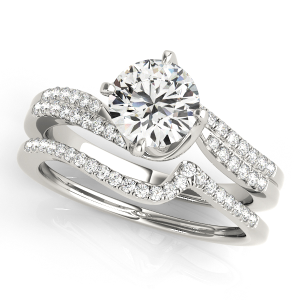 Platinum Engagement Ring Image 3  ,