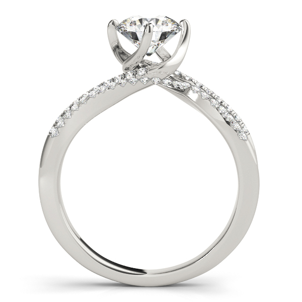 Platinum Engagement Ring Image 2  ,