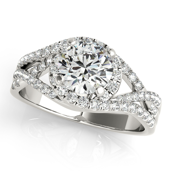 Platinum Halo 2-Row Diamond Band Atlanta West Jewelry Douglasville, GA