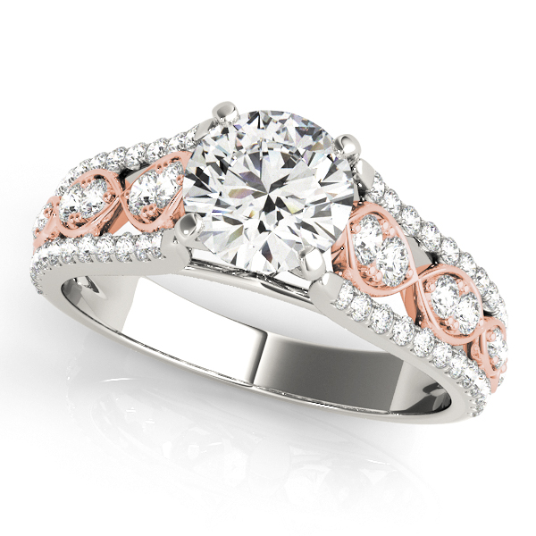 Platinum Multi-Row Engagement Ring Douglas Diamonds Faribault, MN