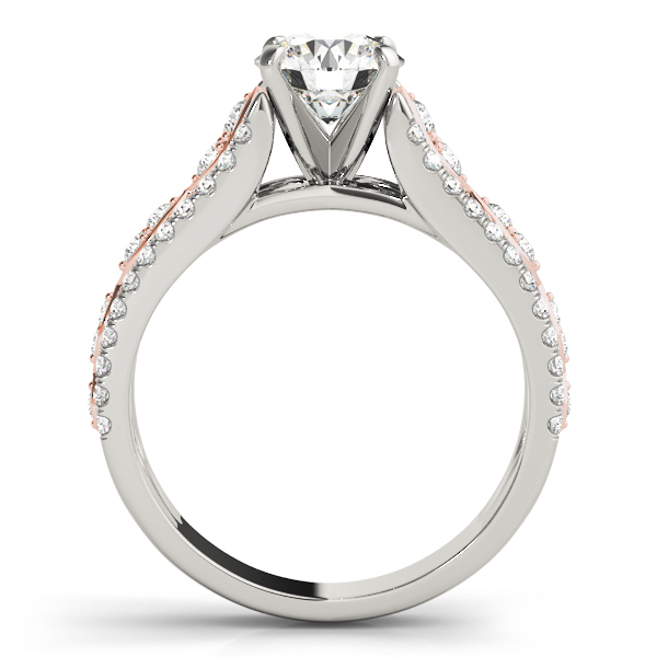 Platinum Multi-Row Engagement Ring Image 2 Douglas Diamonds Faribault, MN